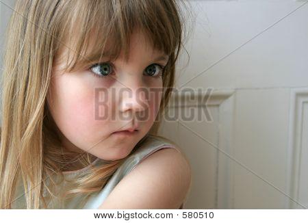 Startled Girl
