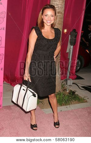 Christine Lakin Dave Edwards/DailyCeleb.com 818-249-499 at the Grand Opening of Shizue Boutique. Shizue, Beverly Hills, CA. 06-26-08
