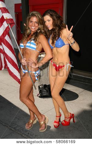 Bridgetta Tomarchio and Alicia Arden  at the launch of Hollywood By The Number's