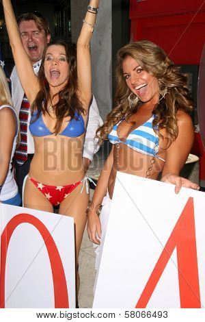 Alicia Arden and Bridgetta Tomarchio  at the launch of Hollywood By The Number's