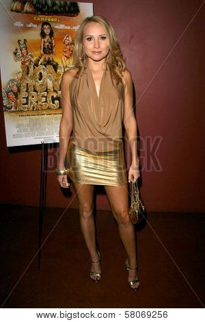 Alana Curry  at the Preview Screening of