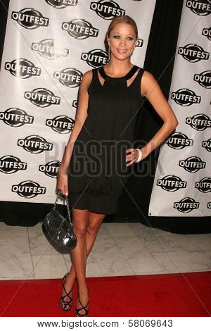 Kristen Renton  at Outfest 2008 Opening Night Gala. The Orpheum Theatre, Los Angeles, CA. 07-09-08
