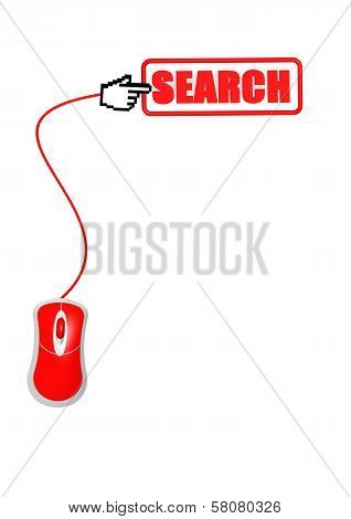Search with Computer Mouse