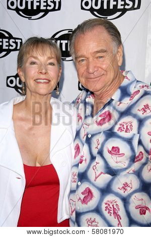 Rosemary Alexander and husband  at the Premiere Screening of