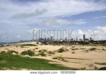 Sand Dunes At Natal, Rio Grande Do Norte (brazil)