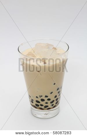 milk bubble tea