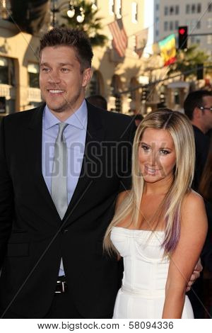 Ashley Tisdale and Scott Speer at the