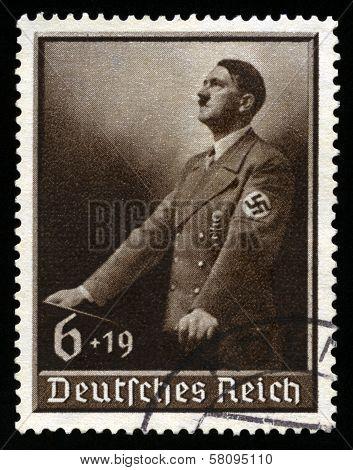 Vintage 1939 German Reich Stamp