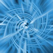 Abstract background swirl poster