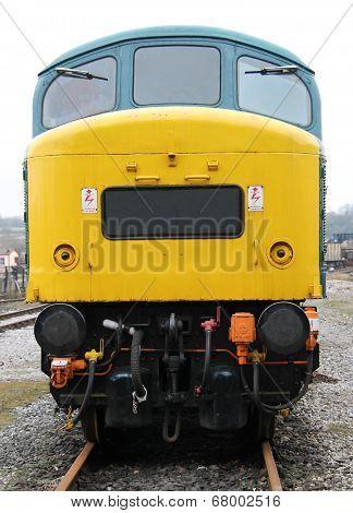 Diesel Engine Train.