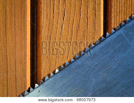 Background With Sawblades