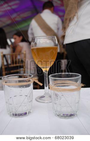 Wine with honey