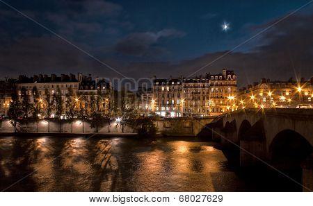 Seine River At Night