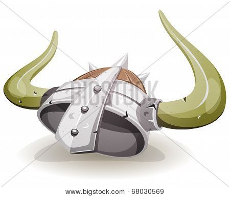 Comic Viking Helmet