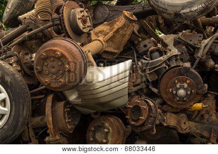 Scrap Axles