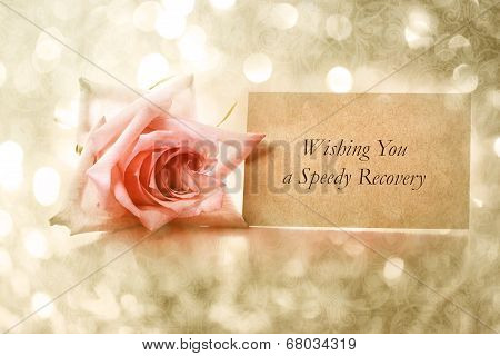 Wishing You A Speedy Recovery Message