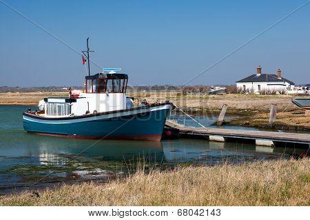 Hurst Castle Ferry England Uk Europe