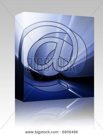 At Internet Symbol Box Package