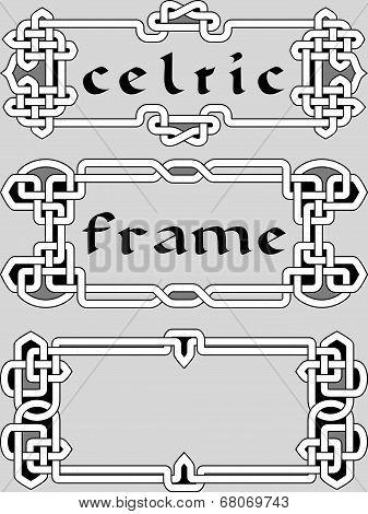 Set Celtic Frame An Element Of Design