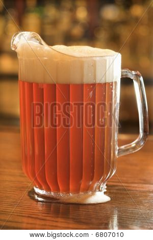 Full Pitcher Of Beer