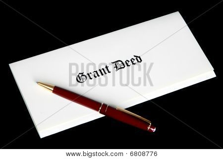 Grant Deed Real Estate Document