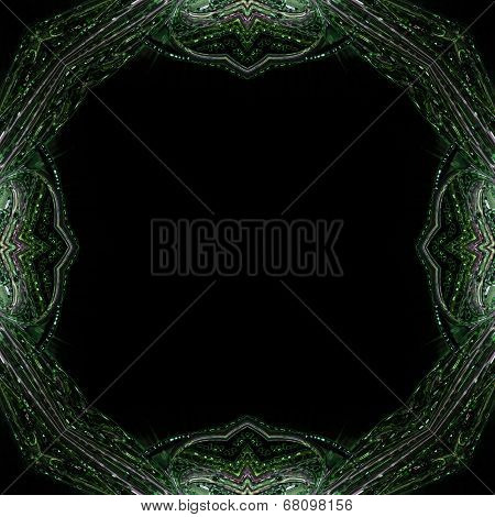 Abstract wonderful illustrated glass design background object poster