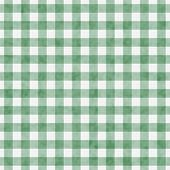 Pale Green Gingham Pattern Repeat Background that is seamless and repeats poster