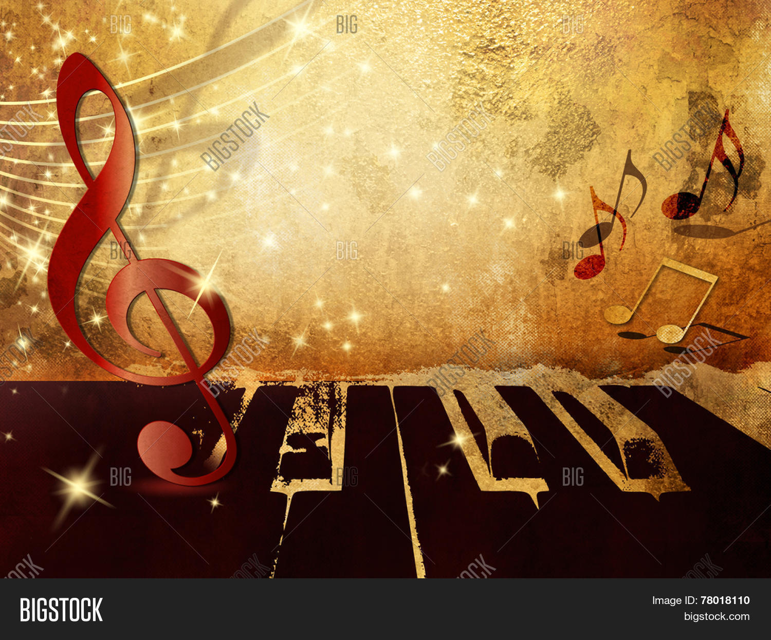 Music Background Piano Image & Photo (Free Trial) | Bigstock