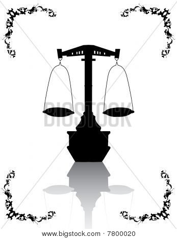 Justice Scales.