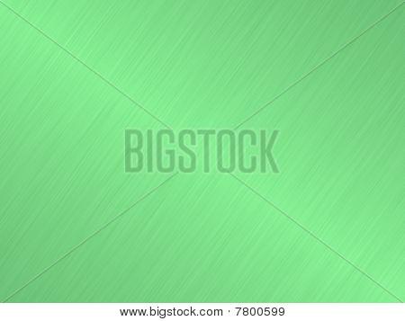 Green Brushed Metal