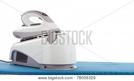 Steam Iron Close up