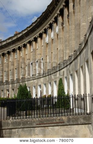 Royal Crescent, Bath, England.