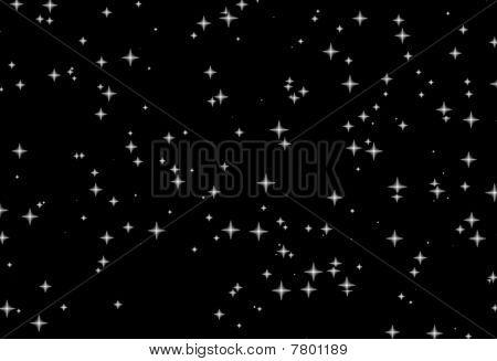 White Stars Black Night