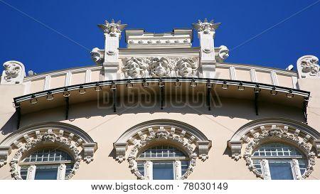 Architecture Element Art Noveau