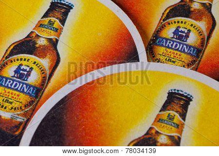 Beermats From Cardinal Beer.