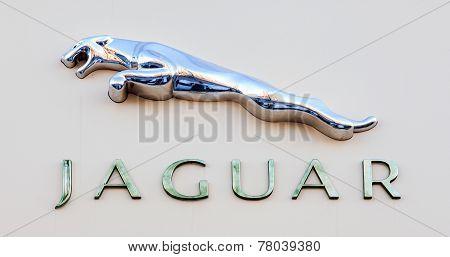 Jaguar Dealership Sign
