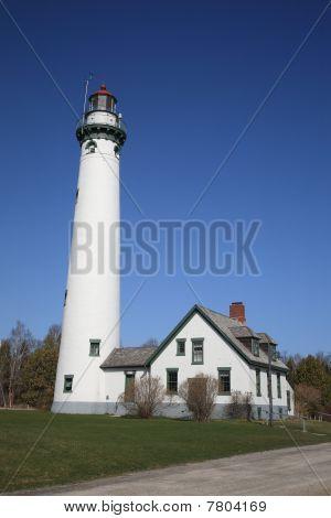 Lighthouse - Presque Isle, Michigan
