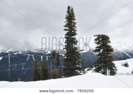 Whistler Blackcomb in British Columbia, Canada