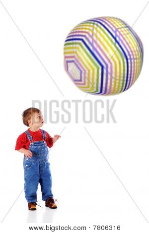 Whoa!  What A Big Ball!
