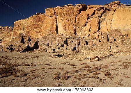 Kiva and Pueblo Ruins