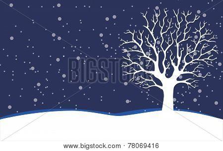 Bare Tree - Stock Illustration