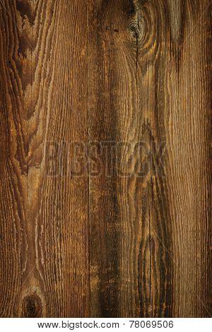 Brown rustic wood grain texture as background
