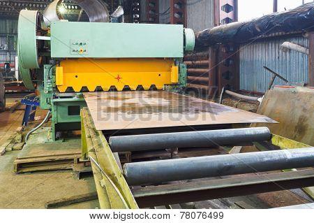 Shear Machine For Metal Sheets