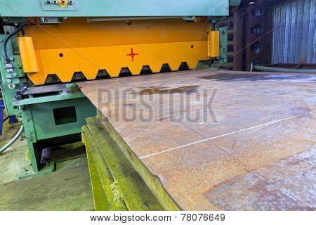 Shear Guillotine Machine For Metal Sheets