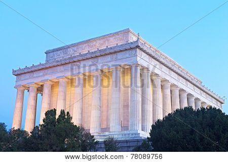 Lincoln Memorial in Washington DC USA.