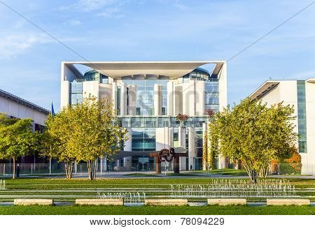 German Chancellery  Is A Federal Agency Serving The Executive Office Of The Chancellor