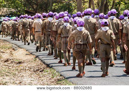 Thai Boy Scout