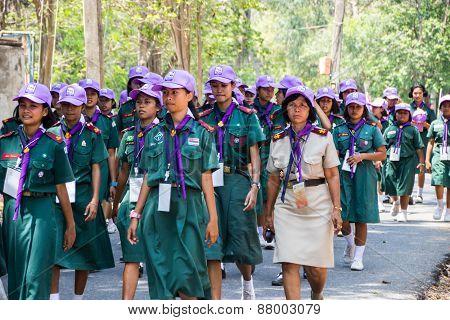 Thai Girl Scout