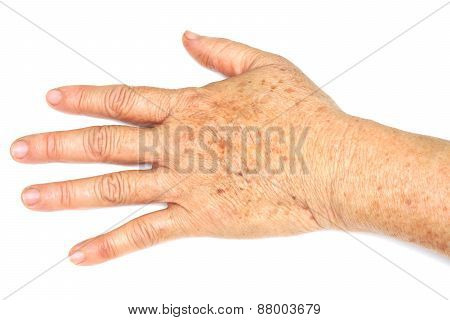 old female hand