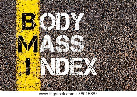 Acronym Bmi - Body Mass Index